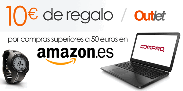 Cheque regalo Amazon Outlet