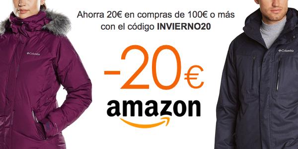 Descuento ropa deportiva invierno Amazon