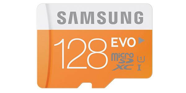 Micro SD 128GB barata de Samsung