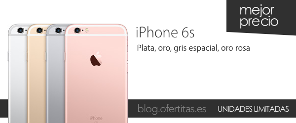iPhone 6s libre barato