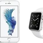iPhone 6s Silver 16Gb + Apple Watch Sport