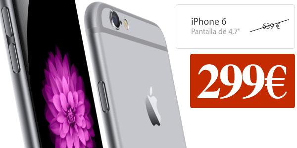 iPhone 6 libre barato