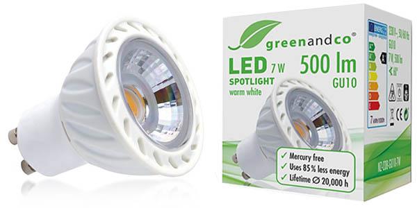 Pack 10 spots LED GU10 7W