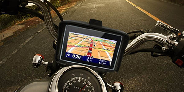 Navegador GPS para moto