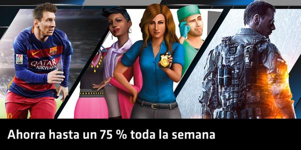 Black Friday en juegos de Origin EA