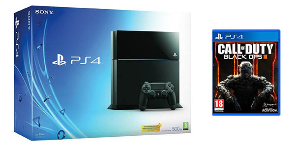 Pack PS4 Black Ops 3 al mejor precio