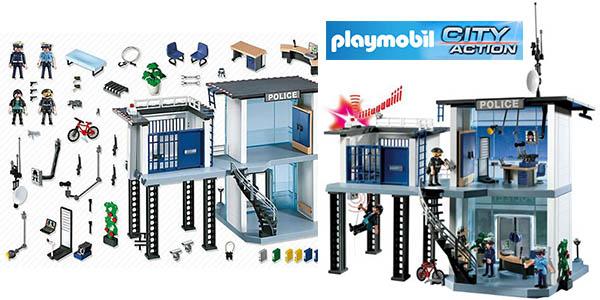 playmobil-city-action-comisaria-policia-barata