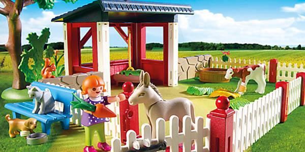 playmobil clinica veterinaria barata