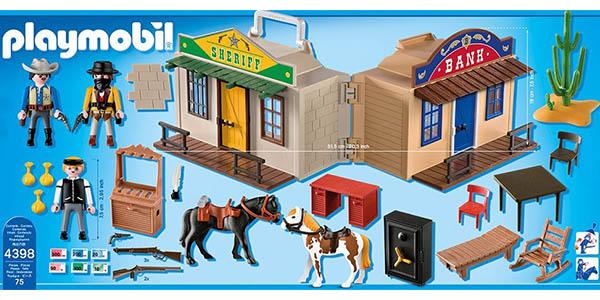 maletín Playmobil Oeste