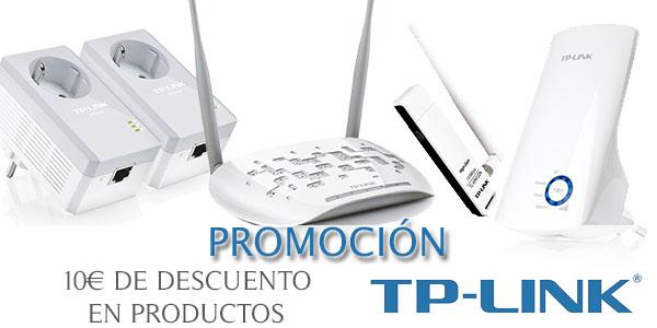 Promoción 10€ descuento TP-Link