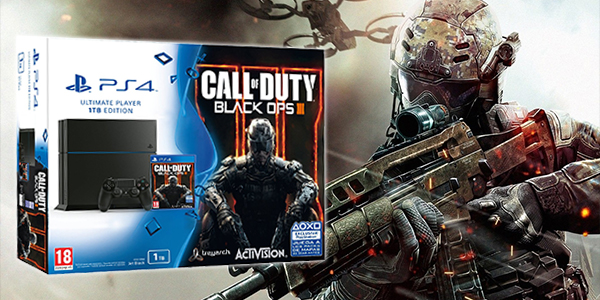 Pack Ps4 + COD: Black Ops 3