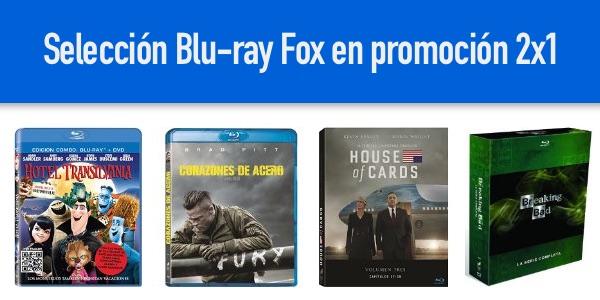 Blu-rays baratos en Amazon