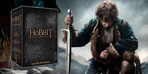 Trilogía Hobbit Extendida Blu-Ray