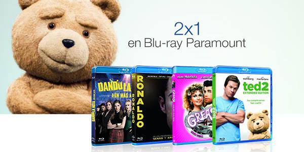 Promoción 2x1 Blu-Ray Paramount