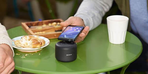 Potencia y calidad de sonido con este altavoz Sony