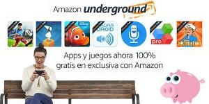Apps gratis con Amazon Underground