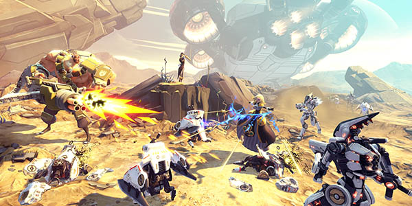 Shooter Multijugador Battleborn