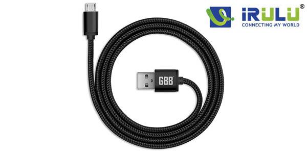 Cable microUSB iRulu barato