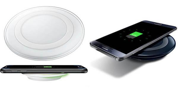 Cargador inalámbrico Qi para smartphone