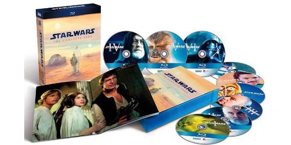 Contenidos del Pack Star Wars