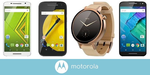 Descuentos smartphones y smartwatches Motorola