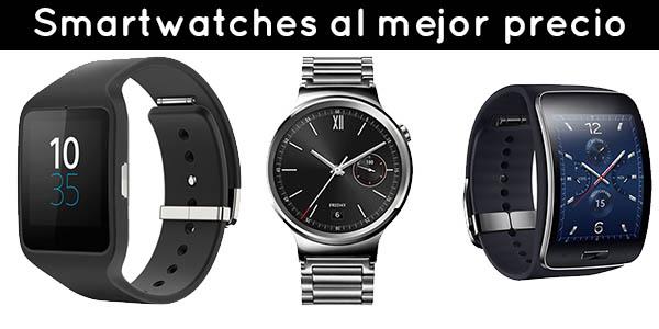 Smartwatches al mejor precio