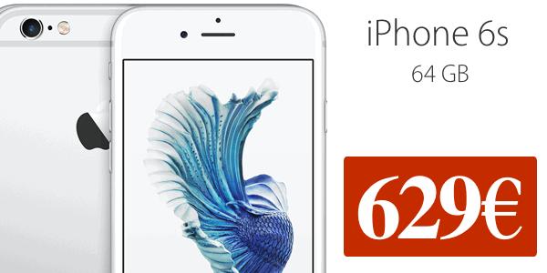 iPhone 6s 64 GB barato octubre 2016