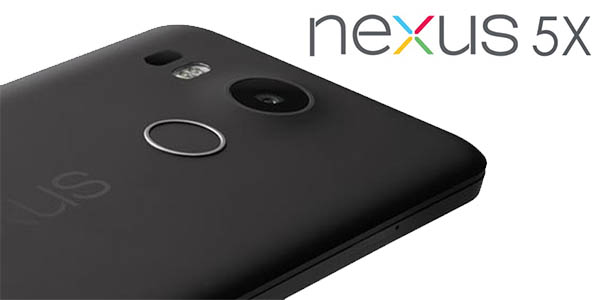 Trasera Nexus 5X