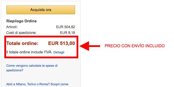 Nexus 6p libre en Amazon Italia