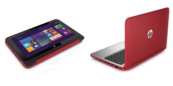 Portátil con pantalla táctil HP