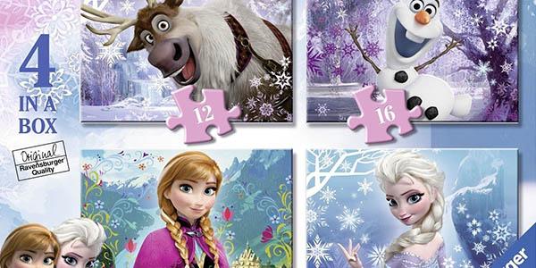 puzles Frozen Elsa Olaf Anna para niños a partir de 3 años entretenido y barato