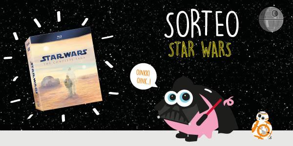 Sorteo Star Wars en Blu-ray