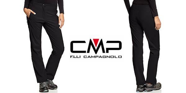 CMP Pantalones de trekking el/ásticos para mujer