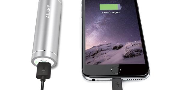 Mini baterías portátiles Aukey de 5000 mAh