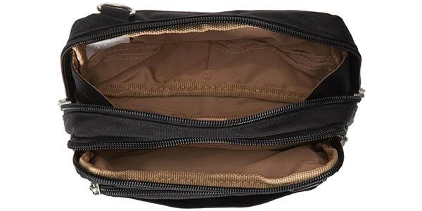 Interior bolsillos Baggallini Triple Zip