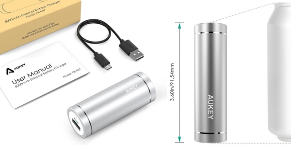 Batería externa portátil de bolsillo 5000 mAh