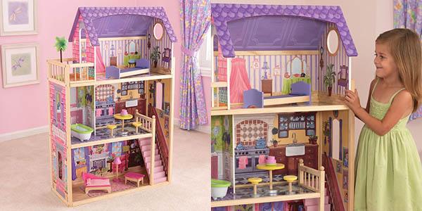 Casa de muñecas de madera Kayla