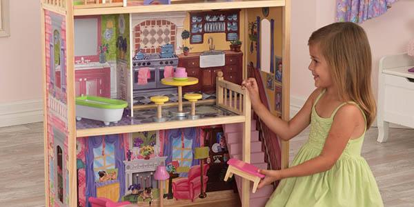Casa de muñecas de 3 pisos