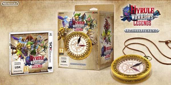 Edición coleccionista limitada Hyrule Warriors Legends