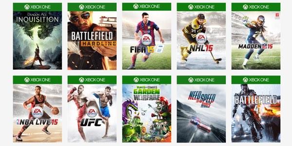 Juegos gratis EA Access Xbox One