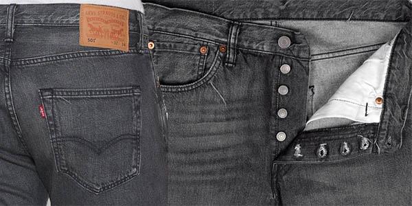 Detalles pantalón vaquero Levi's