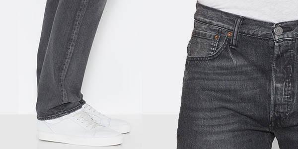 Levi's 501 Original Fit Urban Grey