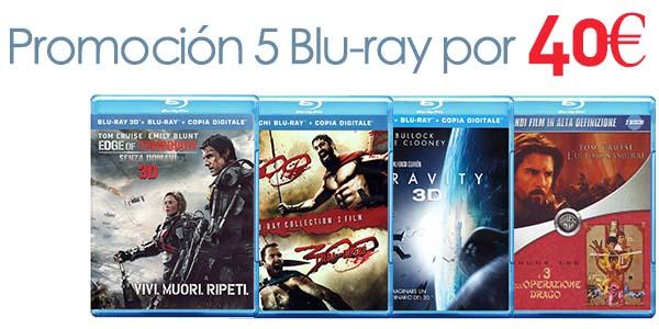 Promoción 5 x 40 Blu-ray