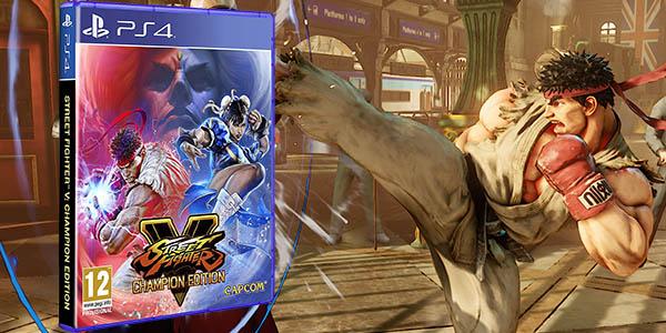 Street Fighter V - Champion Edition para PS4