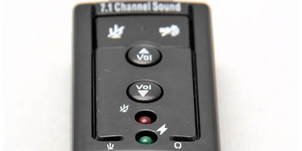 Tarjeta de sonido USB para PC