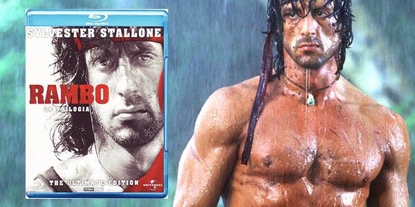 Trilogía Rambo en Blu-ray en alta definición
