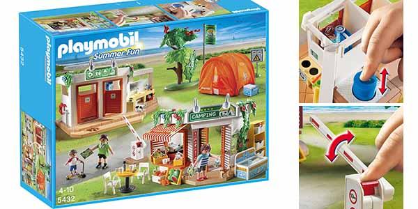 Camping vacaciones de Playmobil