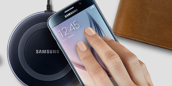 Cargador inalámbrico para smartphone Samsung