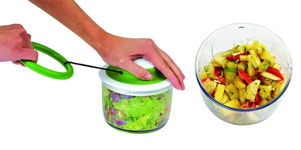 picadora de frutas y verduras