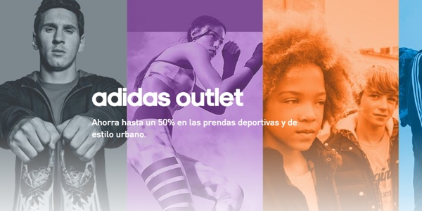 cupón descuento web Adidas